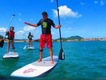 Aprendiendo Stand Up Paddle